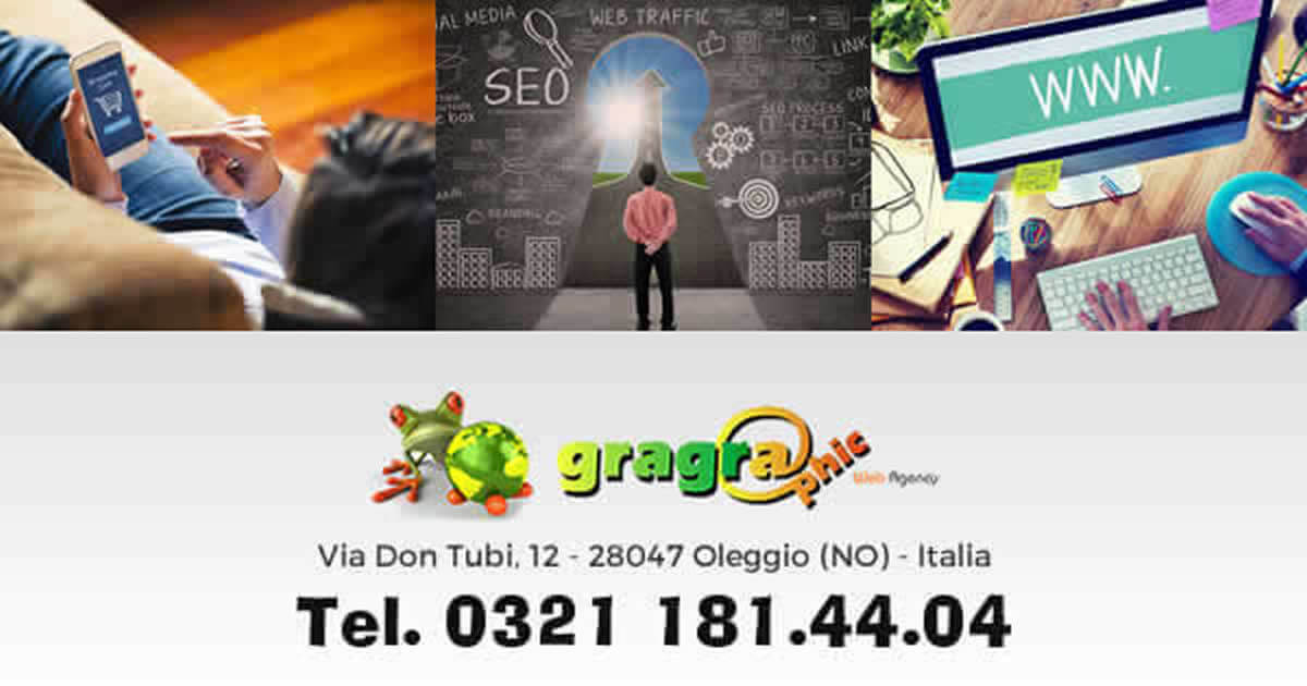 Sei di Venegono Inferiore, hai bisogno un preventivo per un e-commerce contatta Gragraphic web agency